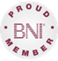 Proud member of BNI Parkside